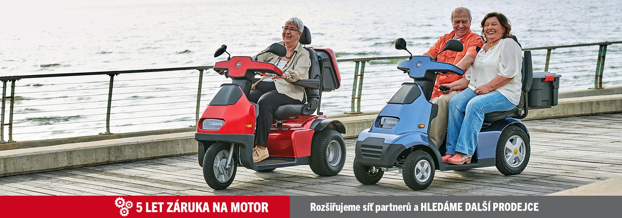 Nejvyšší kvalita Afiscooter S3 a S4